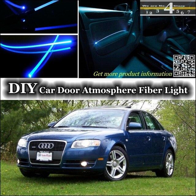 Voor Audi A4 S4 RS4 interieur Omgevingslicht Tuning Sfeer Glasvezel ...