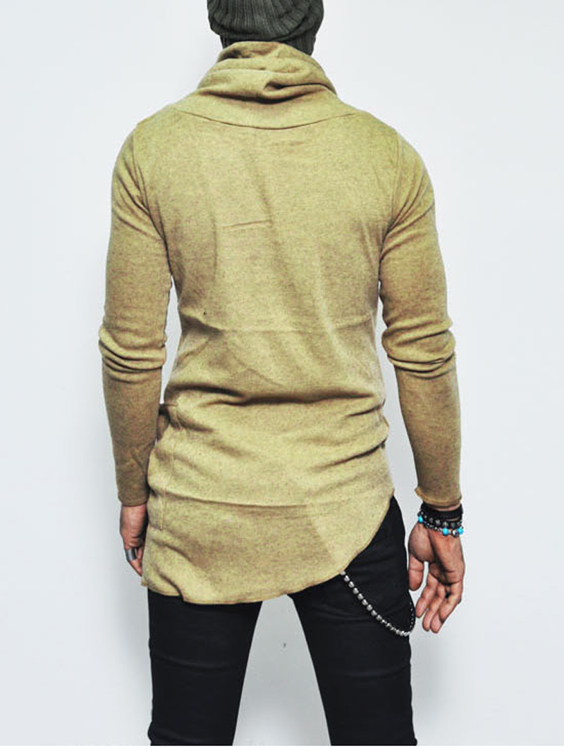 Aliexpress.com : Buy Trend Long Turtleneck Sweater Men 2017 Autumn ...