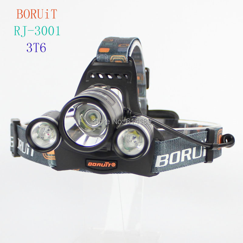 BORUIT RJ-3001 3xCREE XML T6 5000 Lumens 4-Mode USB Rechargeable LED Headlamp (2x18650) sitemap 4 xml