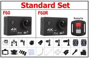 Image 2 - Ultra Hd 4 K Actie Camera Wifi Camcorders 16MP 170 Go 4 K Deportiva 2 Inch F60 30M Waterdicht sport Camera Pro 1080P 60fps Cam