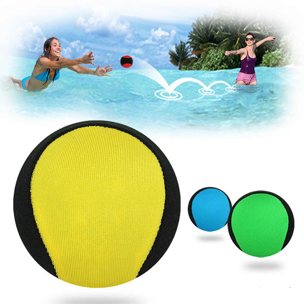 5.5cm Water Bouncing Ball Bounce Water Surf Ball Water Skimming Jumper Ball Ocean Pool Beach Sports Toys For Children Ball Toys