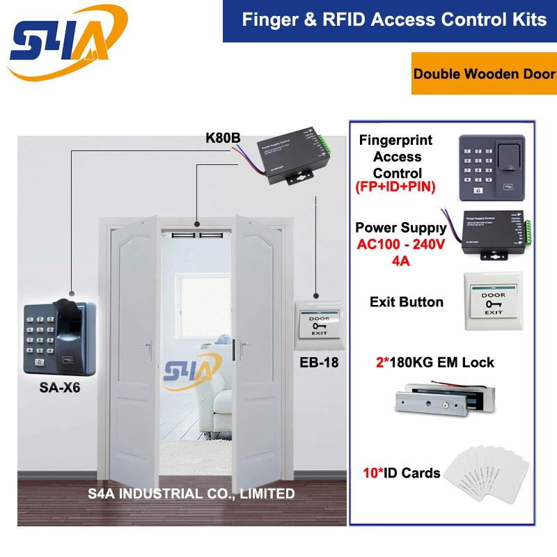 Keypad Standalone Rfid Access Control System For Double Wooden Door double sided turnstile for access control system catracas tourniquetes