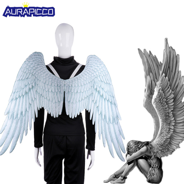 Adult Angel Wings Costume Demon Wings Kids God Costume Halloween Accessories Party Carnival Cosplay Fancy Decoration Witch Wings