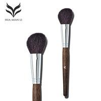 HUAMIANLI Makeup Brushes Holder Hood Handle Goat Hair Professional Bronzer Brush Pen Make Up High Quality