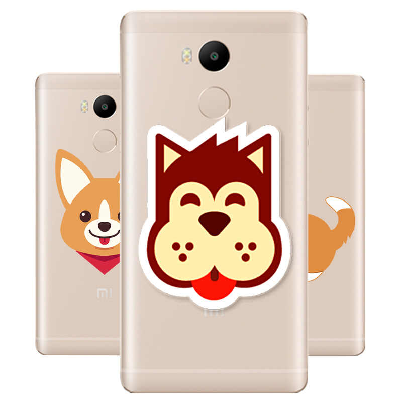 DREAMFOX M495 Funny Welsh Corgi Soft TPU Silicone  Case Cover For Xiaomi Redmi Note 3 4 5 Plus 3S 4A 4X 5A Pro Global