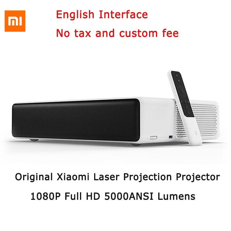 "Briljant Originele Mi Mijia Laser Projectie Tv 150 ""inches 1080 Full Hd 4 K Bluetooth 4.0 Wifi 2.4/5 Ghz Ondersteuning Dolby Dts 3d 5000 Lumen Goede Warmteconservering"