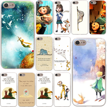 The little prince and the fox Hard Phone Cover Case Transparent for Apple iPhone 7 7 Plus 6 6s Plus 5 5S SE 5C 4 4S Coque Shell