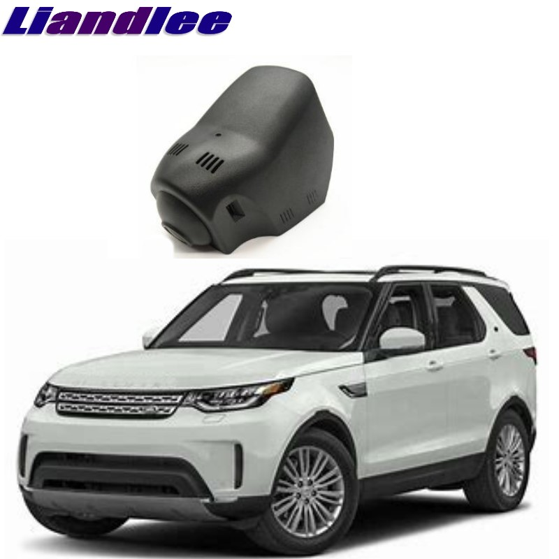 Liandlee For Land For Rover LR Discovery 5 L462 2017 2018 Car Black Box WiFi DVR Dash Camera Driving Video Recorder liandlee for bmw 2 series f22 f45 2014 2018 car black box wifi dvr dash camera driving video recorder
