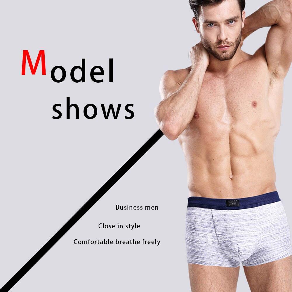 NXY fashion cuecas mens boxer shorts 3 pack underwear mens gift Comfortable cuecas boxer