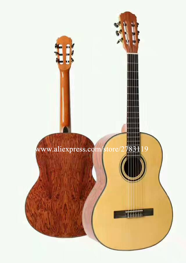 Good quality 39 inch Acoustic Classical guitar With Spruce Top/Rosewood Body +Hard case,Classical guitar for beginner наборы для рисования ravensburger раскраска по номерам тропический остров
