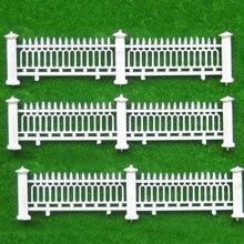 Teraysun 1/200 scale Model fence / villa garden railing model guardrail/ construction sand table material