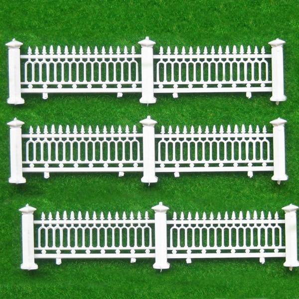 Teraysun 1 200 Skala Modell Zaun Zaun Villa Garten Gelander Modell