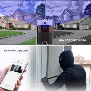 Image 4 - Eken 2020 Smart Wifi Video Deurbel Camera Visuele Intercom Met Chime Nachtzicht Ip Deurbel Draadloze Home Security Camera