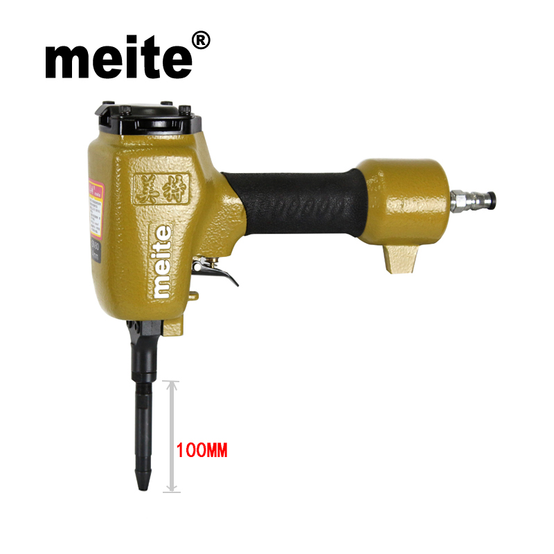 Meite shoe nailer SN100 professional nail gun for making heel and sole nozzle 6mm pneumatic nailer shoe gun Feb.26 Update tool intelligent sole shoe polisher shoe cleaning machine household automatic shoe cleaner