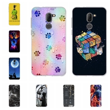 For Alcatel 3X Case Ultra-thin Soft TPU Silicone 5058Y 5058I Cover Geometric Patterned Funda Capa