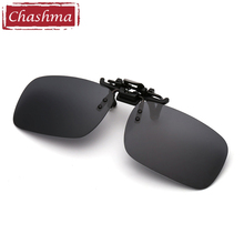 Chashma Brand Rimless Sunglasses Clips Mirror Lenses Coated UV 400 Sun Glasses Clip on Prescription Frame 3 Size