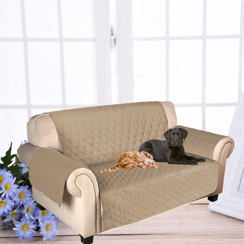 Online Shop Dog Double-seat SOFA Cover Protector For Dog Kids Pets Cat  Reversible Furniture Loveseat Nonslip Two Seats Chair Covers PT1246    Aliexpress