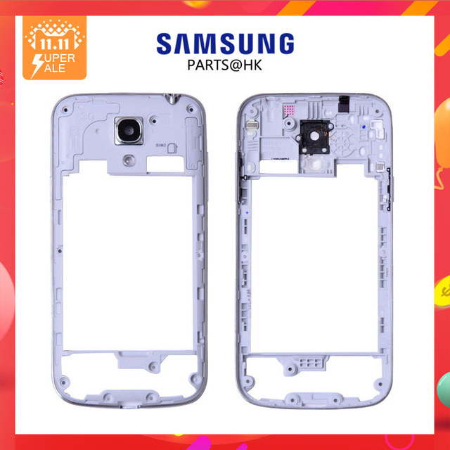 New For Samsung Galaxy S4 mini GT-I9195 i9190 Middle Frame Housing Chassis 4750mAh B500BE Battery Replacement Parts