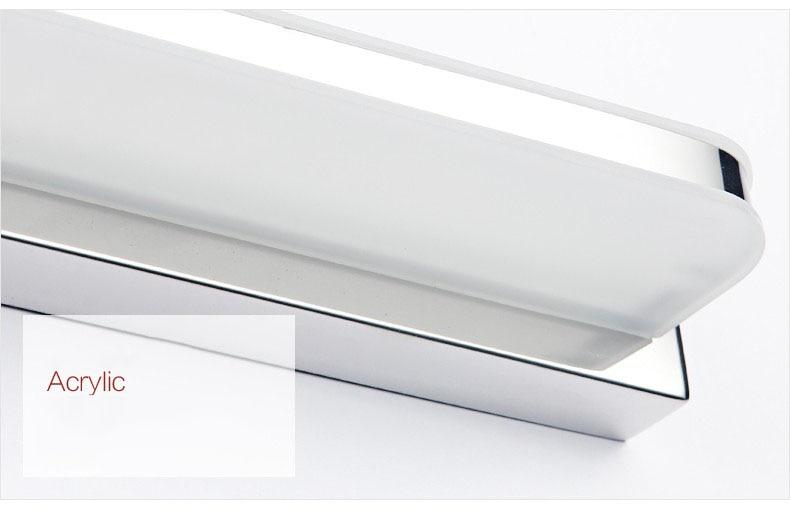 Badkamer Verlichting Spiegel : Langer led spiegel licht 25 cm ~ 112 cm ac90 260v moderne