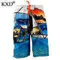 KXD 2017 aussie бренд быстрое высыхание Настольные Шорты, плавки мужские Boardshorts Пляжные шорты/бермуды masculina де marca homme шорты