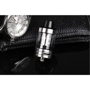 Image 4 - JVSURF Atomizer 3ml Top Tank Head Coils for Vape Electronic Cigarettes Vape Starter Kit 100W 22mm Coils Cap Drip Tip 1pcs