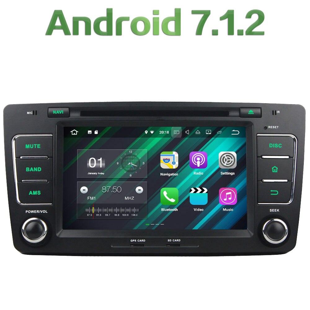 GPS Navi 2GB RAM 16GB ROM Android 7 1 2 Bluetooth Stereo Radio 2 Din Car