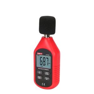Image 3 - UNI T ut353 instrumento de medição ruído db medidor 30 130130db mini áudio medidor nível som decibel monitor