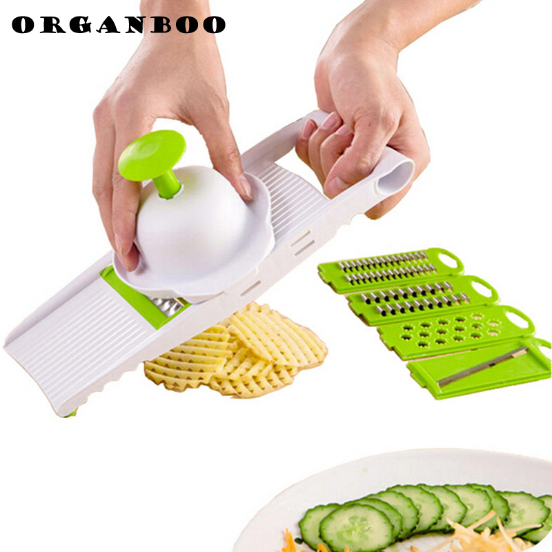 ORGANBOO 7PCSSet kitchen gadgets vegetable cutter grater