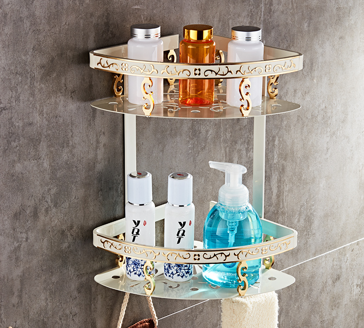 FLG Space aluminum bathroom racks bathroom bathroom shelf storage ...