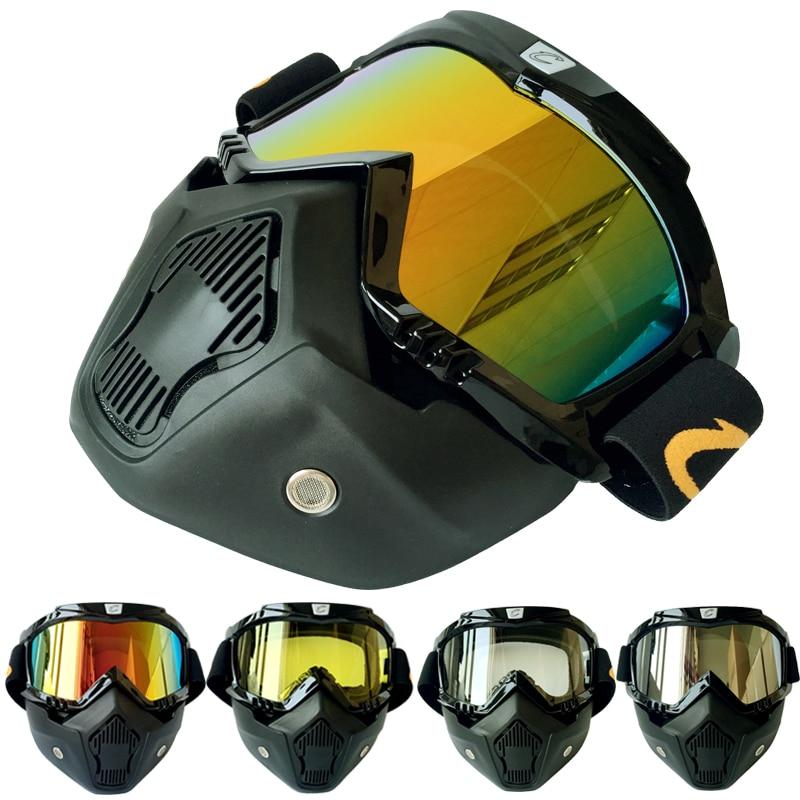 (1set & 4 צבעים) New Arrival !! מסכה משקפי מגן - אופנוע אביזרים וחלקים