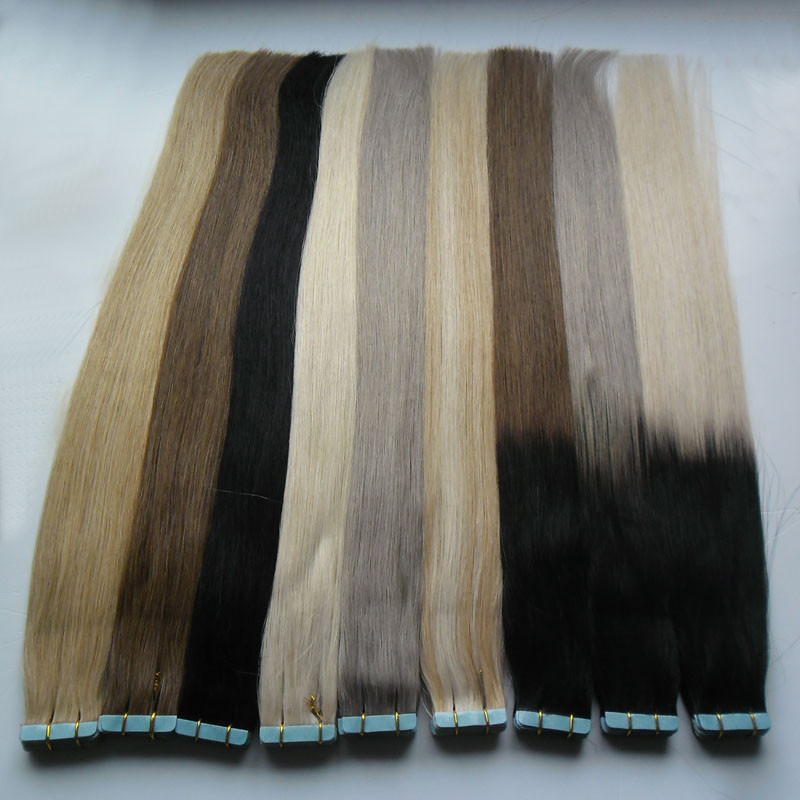 Apply Tape Adhesive Skin Weft Hair Ombre Tape In Humanhair