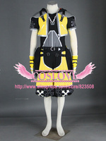 High Quality Custom Made Yellow 3th Sora Cosplay Costume from Kingdom Hearts Anime Christmas Holloween Plus Size (S 6XL)