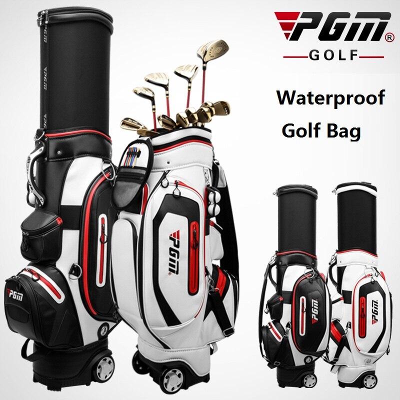 2020 PGM Golf Bag Men Women Retractable Cap Waterproof Bag Multifunctional Large Capacity Air Aviation Package D0741