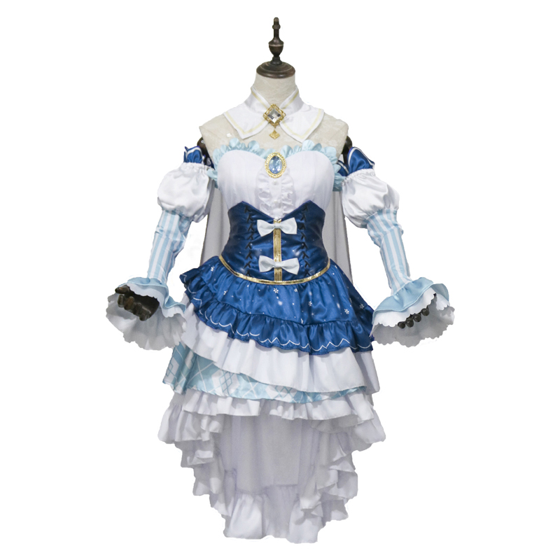 Costume Props 2019 Snow Miku Hatsune Star Princess Cosplay Bear And Crown Cosplay Costume Accessories For Women Girl
