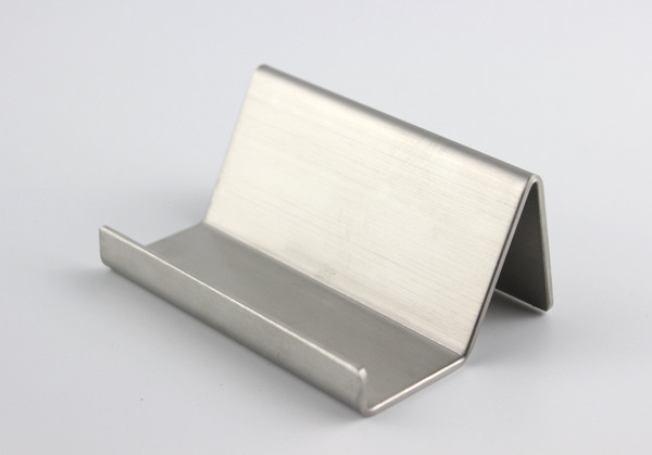 Modern stainless steel business card holder name card holders note modern stainless steel business card holder name card holders note holder display stand satin finish luxury desktop stand case in home office storage from reheart Choice Image