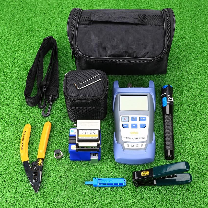 KELUSHI 광섬유 FTTH 도구 키트, FC-6S 광섬유 클리버 및 - 통신 장비 - 사진 2