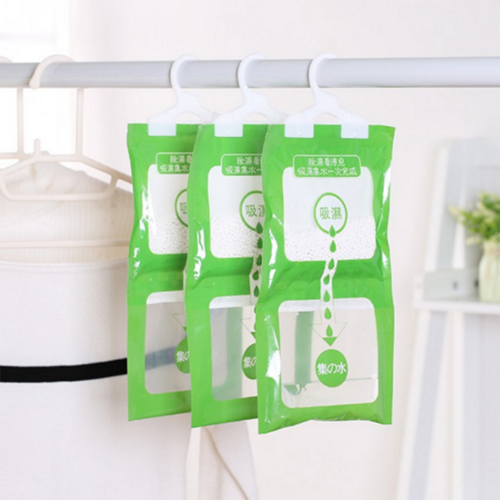 2019 Hot Hanging Closet Wardrobe Bathroom Anti-mold Moisture Absorbent Dehumidification Desiccant Bag