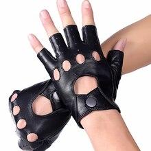 Мужские перчатки из натуральной кожи Полуфабрикаты на открытом воздухе для езды на велосипеде  √