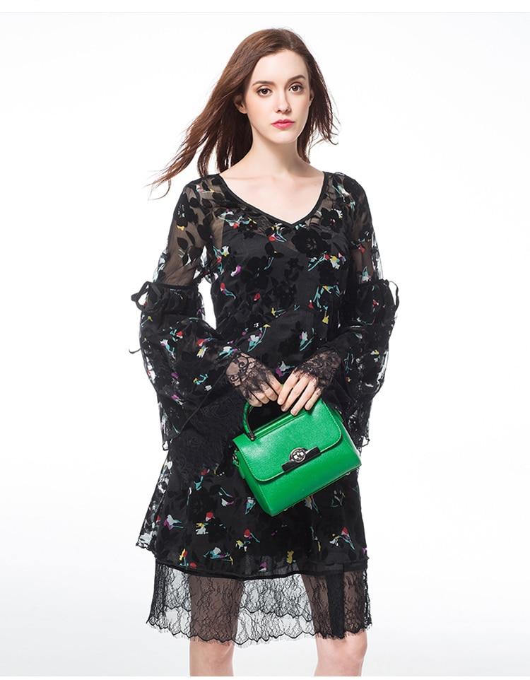 Robe néon, robe en soie printemps et été, marque de robe en mousseline de soie deux pièces, robe à fleurs