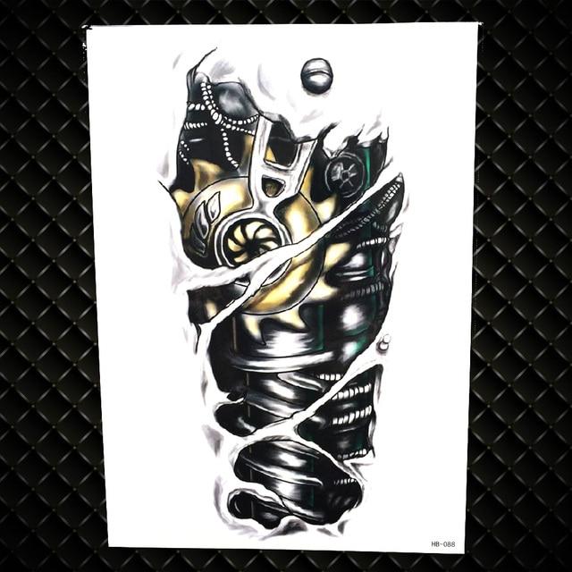 8d5ecadbbda6e קנו אמנות הקעקוע והגוף   Lion King Warrior Temporary Tattoo Stickers ...