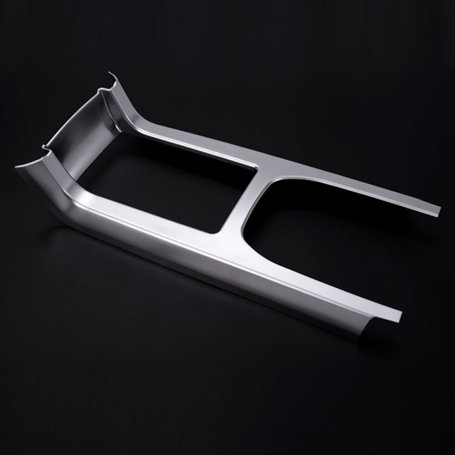 High Quality Matte Chrome Gear Shift Panel Cover Frame Sticker For Land Rover Discovery Sport 2015 2016 Car Styling Accessories