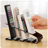 Practical Storage Holder Rack 4 Section Remote Storage Rack TV DVD VCR Step Remote Control Phone