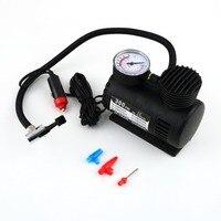 Cimiva Black Mini 12V 300PSI Car Air Pump Tyre Compressor Portable Electric Car Air Pump Bike