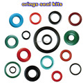 Бесплатная доставка инжектор топлива Viton oring уплотнений комплекты с разным цветом и размером для 2 шт образцов (AY-2SO)