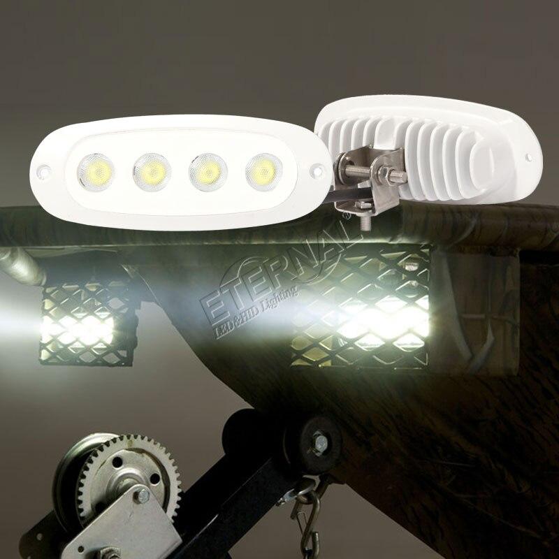 12 W marine a mené la lumière d'inondation menée par support de la lampe 316 de bâti de bateau de lumière de travail pour la lampe marine de dock de lampe de travail de bateau de yatch