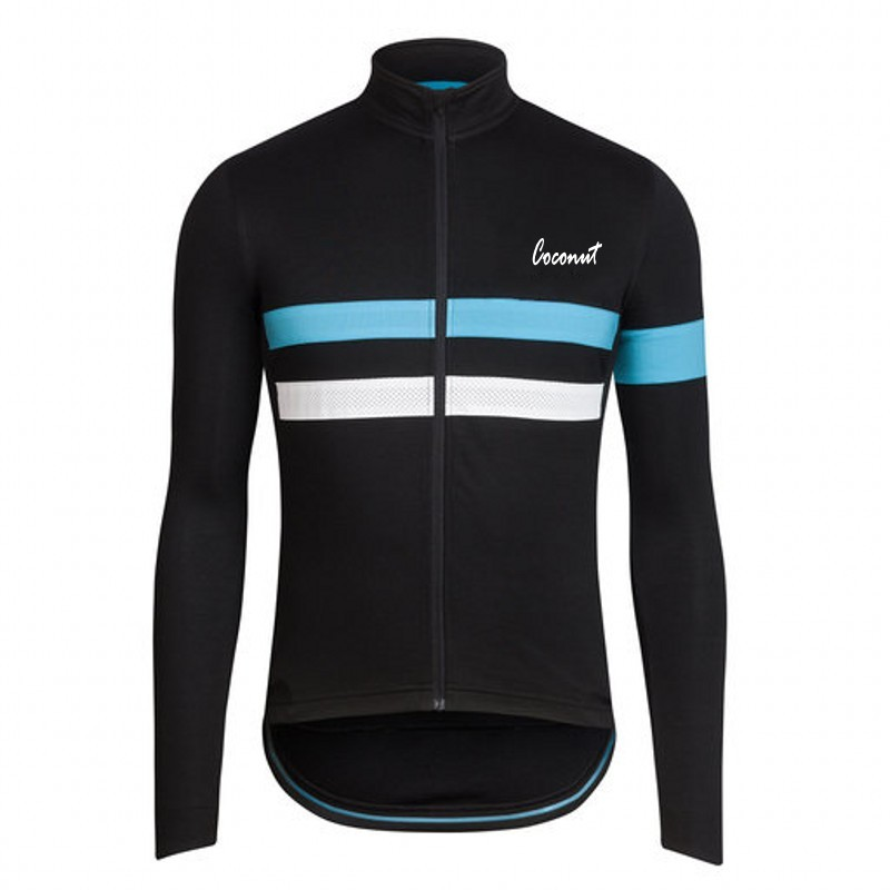 Prix pour De noix de coco Ropamo Nouveau Design Hiver Thermique En Laine Polaire Vélo Jersey Weam Up Vélo Clothing Porter Ropa De Ciclismo Hombre Vtt Clothing
