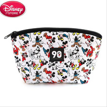 Disney Mickey Mommy Bag Multi-function Women Bag PU Leather Wallet Bag Girls Gift все цены