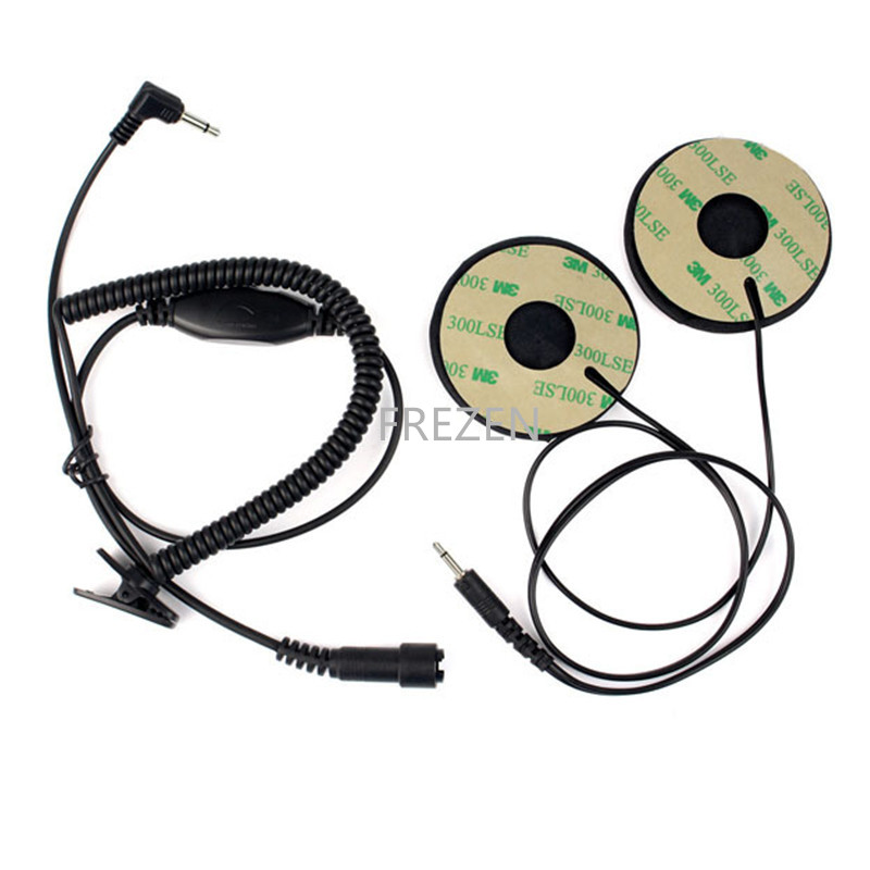 Helmet Motorbike Headset Earphone 3.5mm untuk MP3 MP4 GPS 3.5 Earphone