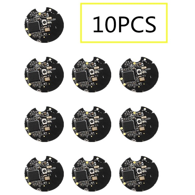 10pcs NRF51822 Bluetooth 4.0 Wireless Module ibeacon base station positioning Beacon near field positioning battery with shell