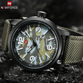 Men NAVIFORCE Watches Fashion Camouflage Quartz-watch Nylon Watch Strap Waterproof Military Hodinky Relogio Masculino Esportivo